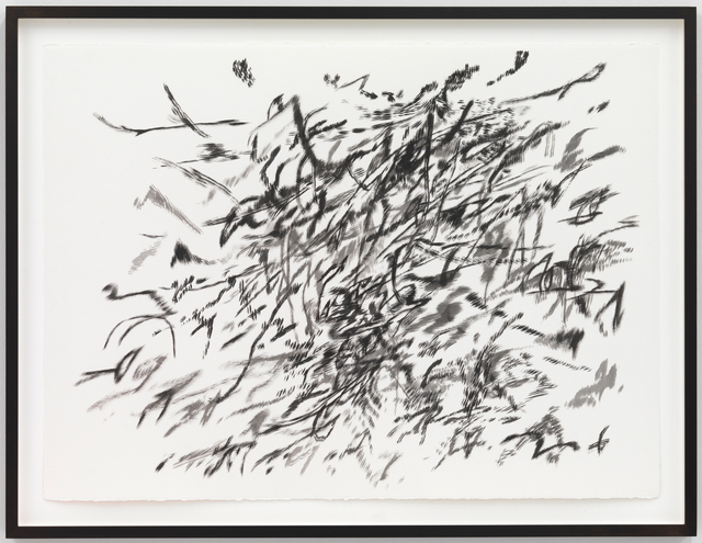 Untitled, 2014 Ink on paper 22 × 30 in 55.9 × 76.2 cm